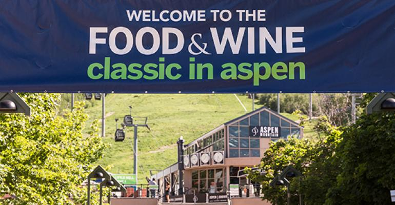 Behind the scenes at the 2015 Food & Wine Classic in Aspen