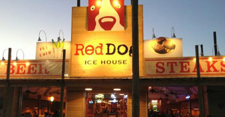 A look inside Red Dog Ice House