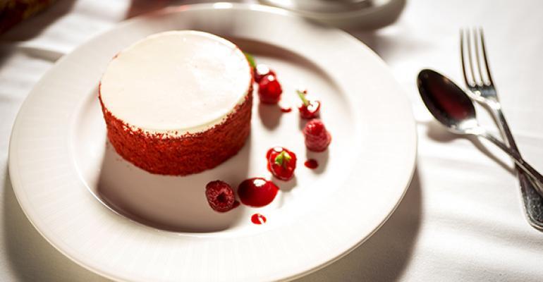 Strip House red velvet cake