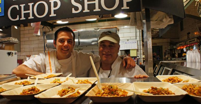 Chefs help celebrate Cleveland's West Side Market centennial