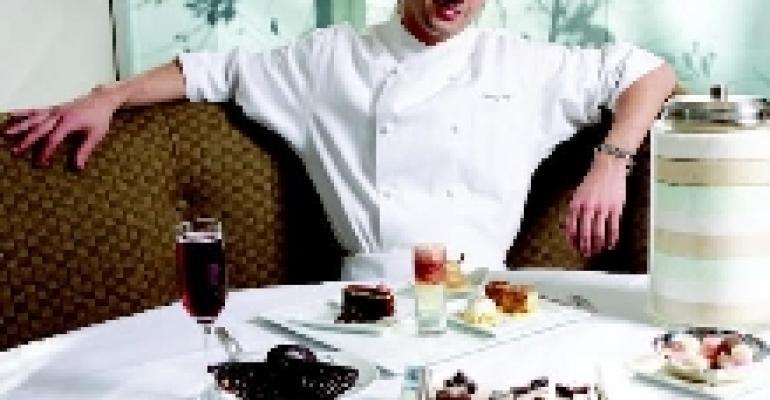 Johnny Iuzzini, Pastry Chef, Georges, NYC