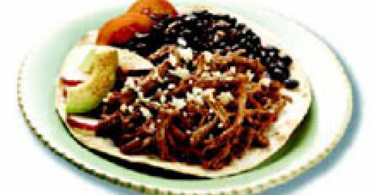 Pulled Pork with Pasilla Mole