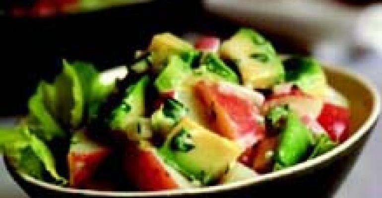 California Avocado Potato Salad