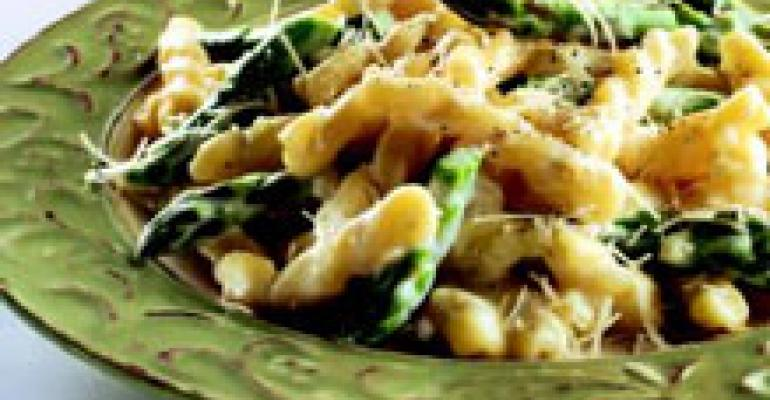 Gemelli with Asparagus and Mascarpone
