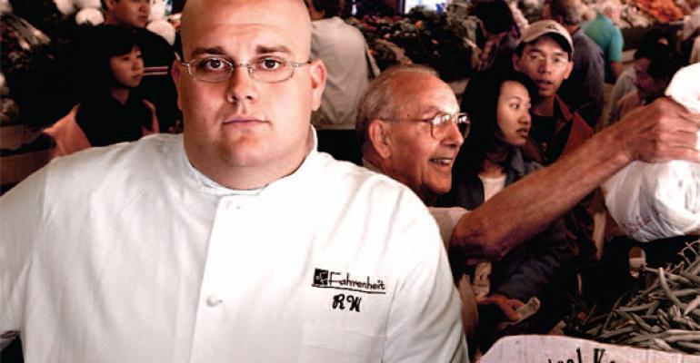 Rocco Whalen, Chef/Partner, Fahrenheit, Cleveland, OH