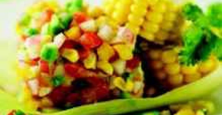 Sweet Corn Seviche