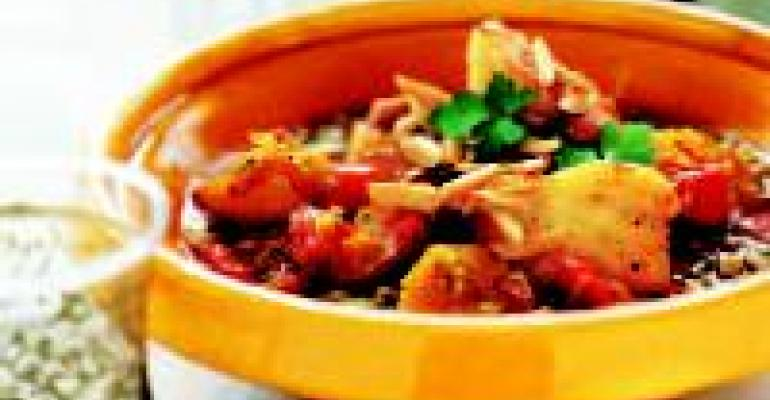 Monkfish Tagine