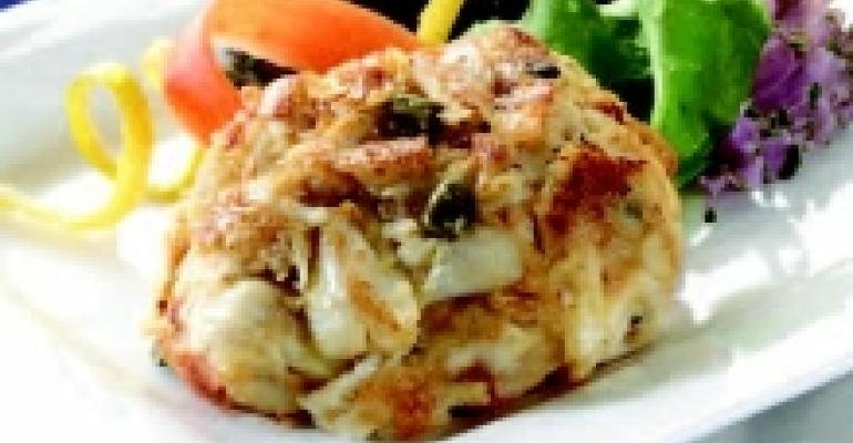 Phillips Lemon Caper Crab Cakes