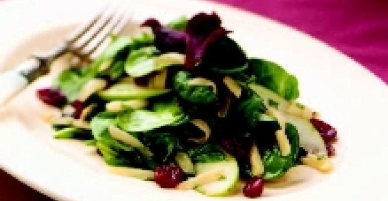 Plasant Ridge Reserve & Warm Arugula Salad