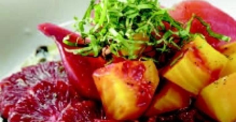 Blood Orange and Beet Salad