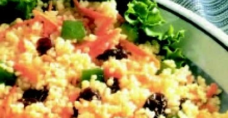 California Raisin Couscous Salad with Almonds