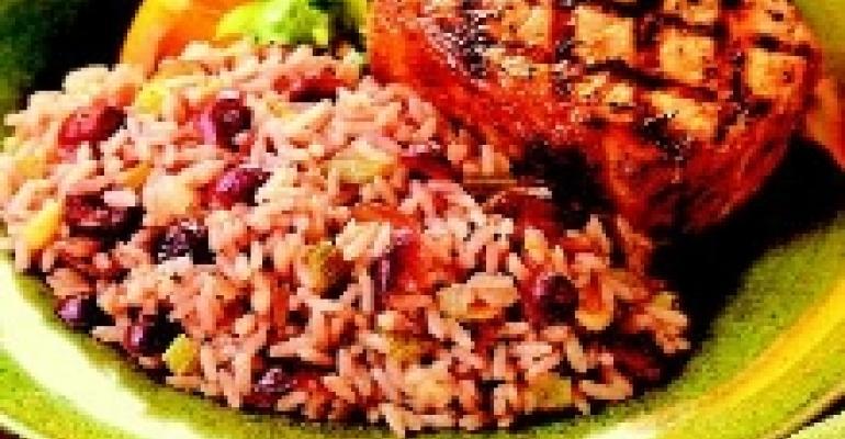 Sour Cherry Rice