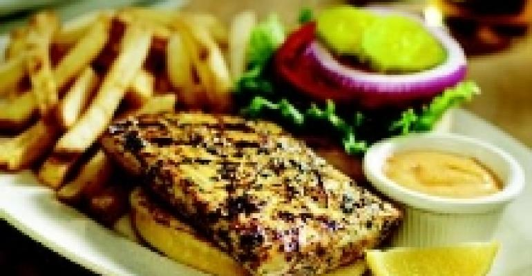 Grilled Mahi-Mahi Sandwich with Cajun Remoulade