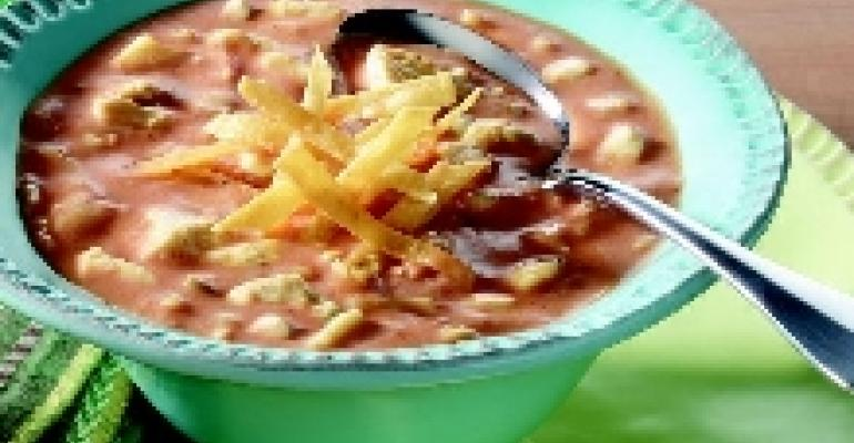 Enchilada Turkey Soup