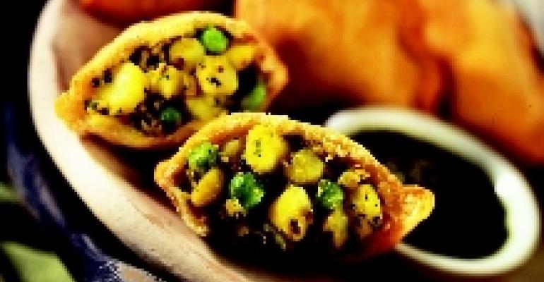 Spicy Idaho Potato Samosas