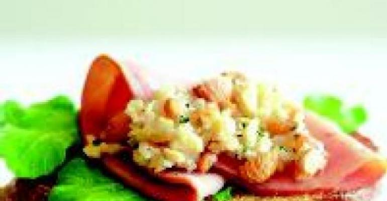 Almond-Apple Confitado Sandwich Spread