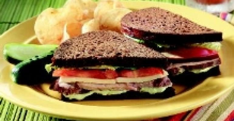 Grilled Turkey Sandwich with Gouda