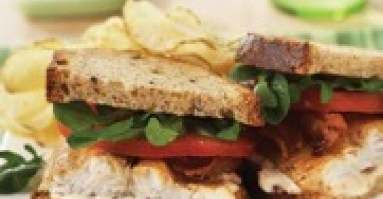 Hickory-Smoked Catfish BLT