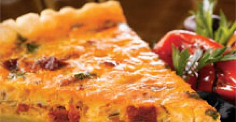 Bilbao Chorizo-Onion Tart