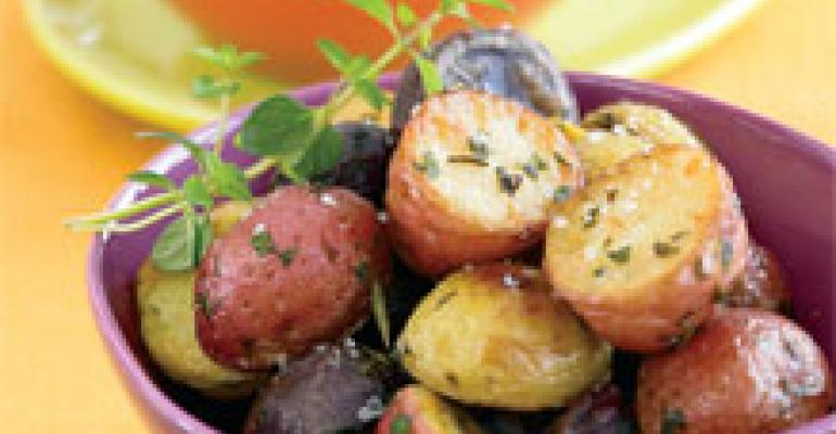 Roasted Specialty Potatoes with Herbs