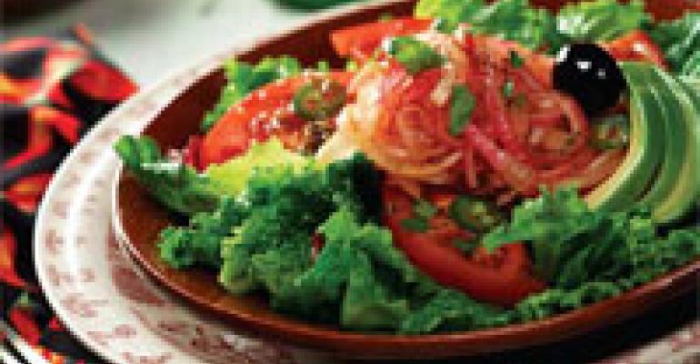 Laredo Salad with Marinated Onions