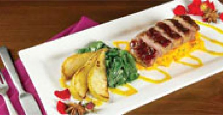 Pomegranate-Glazed Duck Breast
