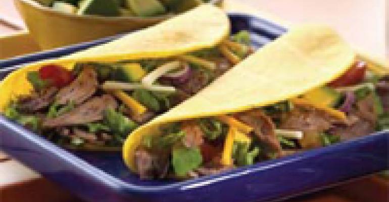 Mango Barbecue Lamb Tacos