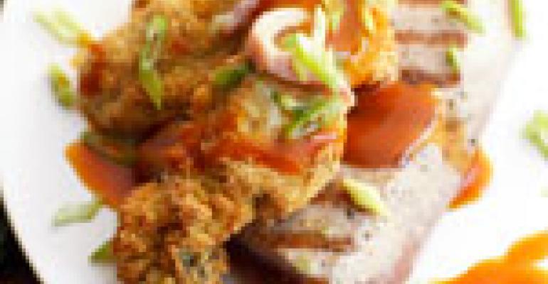 Grilled BBQ Tuna