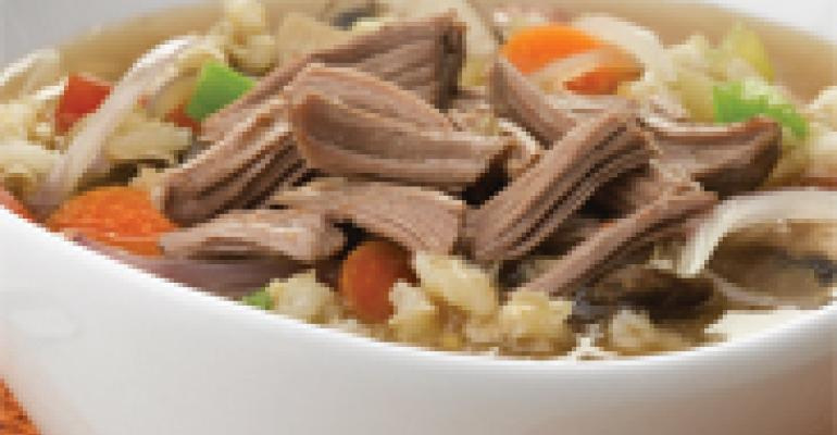 Hearty American Lamb and Barley Soup