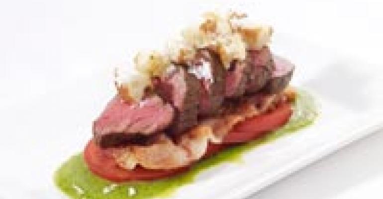 Cervena Venison BLT Salad