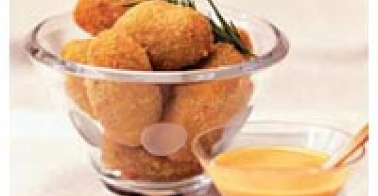 Spicy Idaho Potato and Chicken Croquettes
