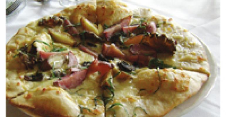 Idaho Fingerling Potato Pizza