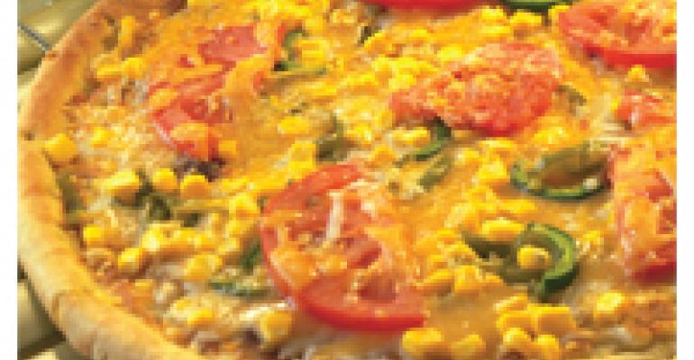 Poblano Corn Pizza