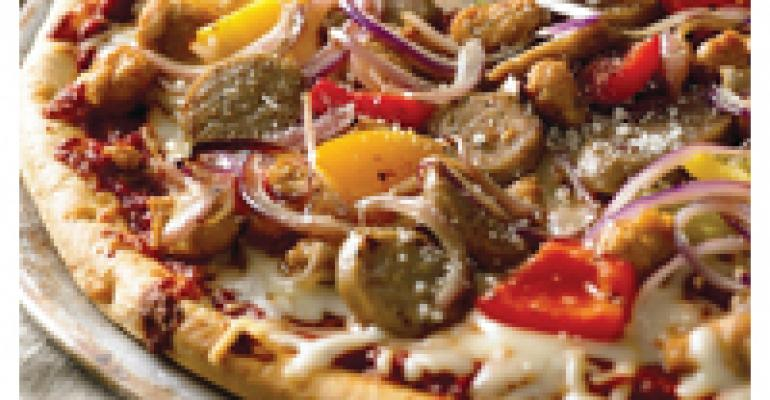 Sausage & Pepper Rustica Pizza