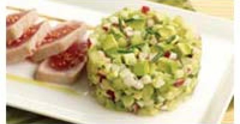 Sesame-Seared Ahi and California Avocado Relish