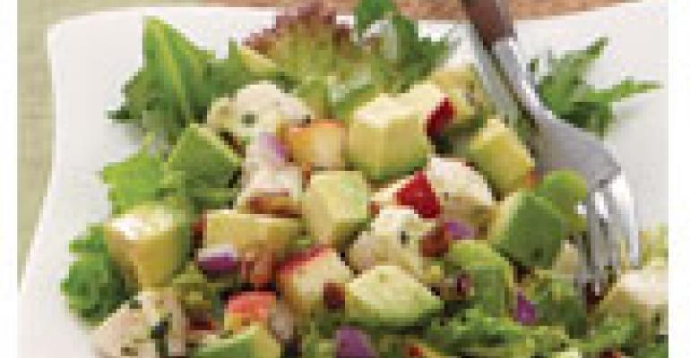 Avocado and Apple Chicken Salad