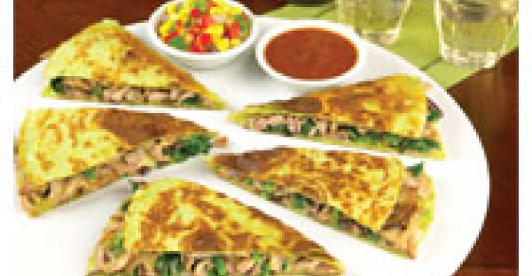 Pulled Duck Quesadilla