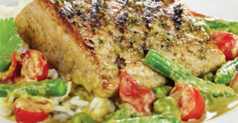 Thai Green Curry Mahi Mahi