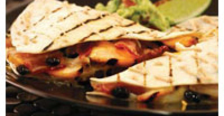 Flame-Grilled Chicken Quesadilla