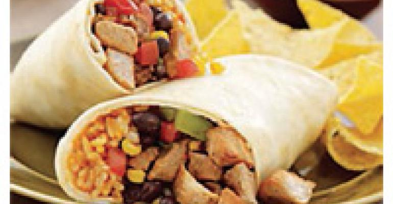 Green Chili Pork Burrito