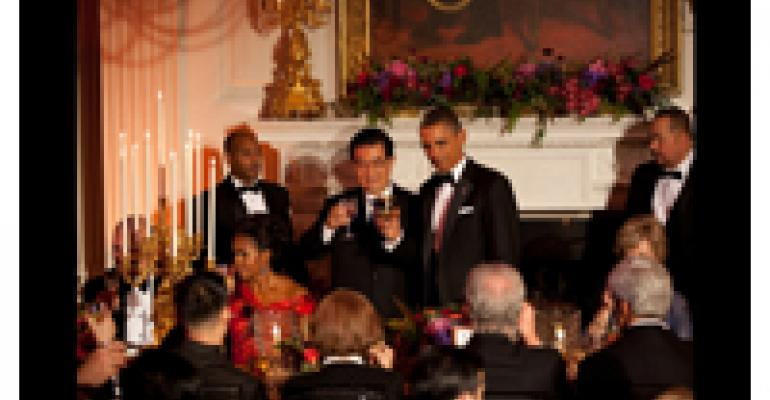 Obama's Can't-Miss Banquet Menu