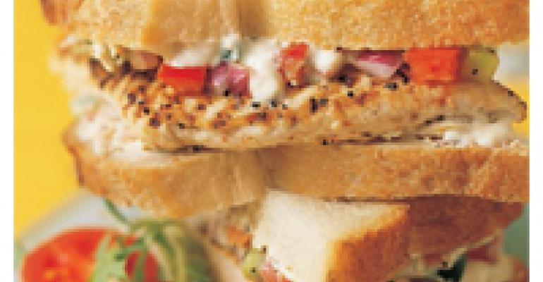 California Chicken Sandwich Recipe