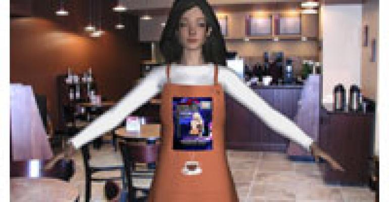 Hi, I'm Your Server. Scan Me.