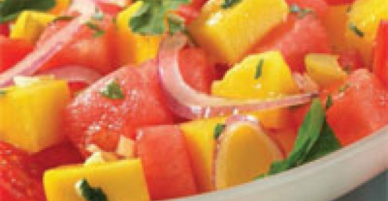Mango Watermelon Salad