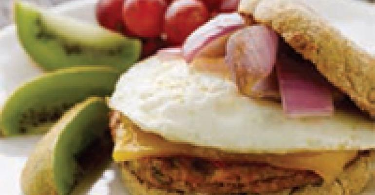 Young at Heart Healthy Breakfast Sandwich