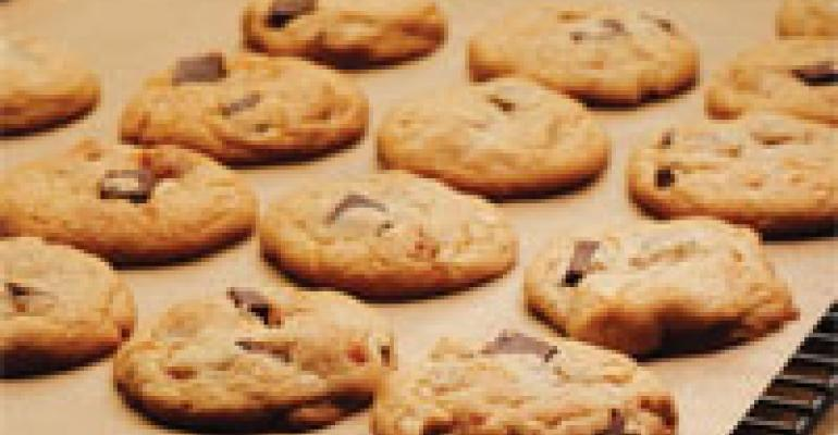 Caramel Peanut Chocolate Chunk Cookies