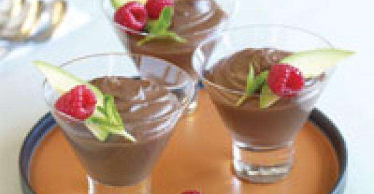 Raw Chocolate and Avocado Mousse