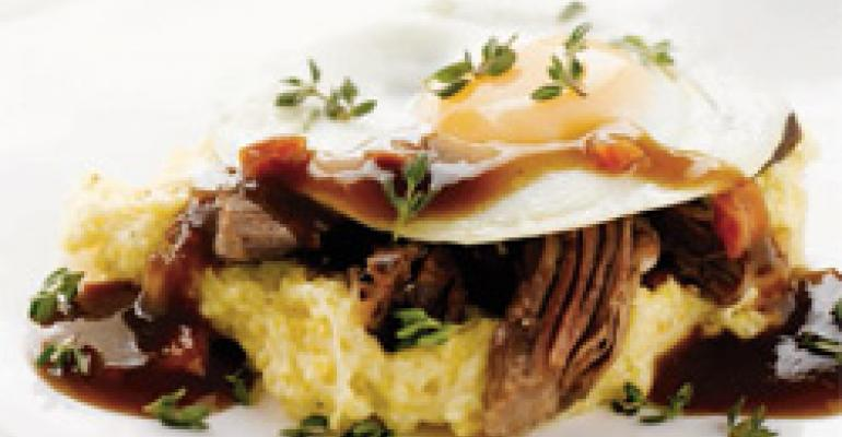 Short Ribs with Creamy Polenta and Fried Eggs