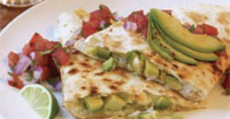 Crab & California Avocado Quesadilla