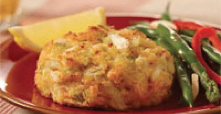 Gluten Free Creole Style Crab Cake